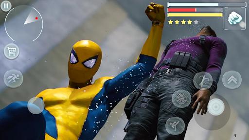 Spider Hero - Super Crime City Battle android2mod screenshots 16