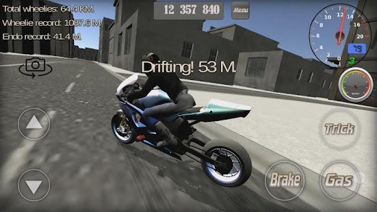 Wheelie King 3D - Realistic free  motorbike racing 1.0 Screenshots 9