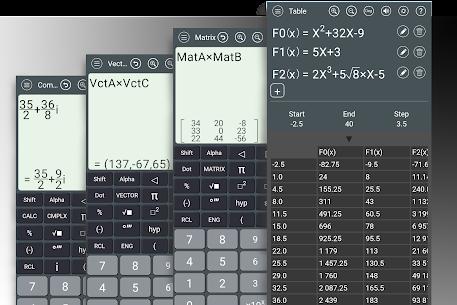 HiEdu Scientific Calculator He-580 Pro 5
