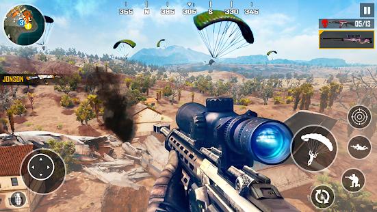 FPS Shooting Squad - Gun Shooting Games