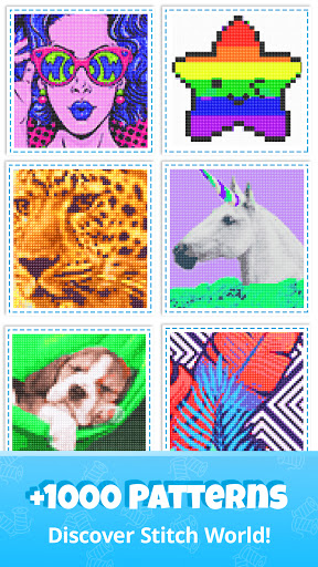 Cross Stitch Gold: Color By Number, Sewing pattern 1.2.3.1 apktcs 1