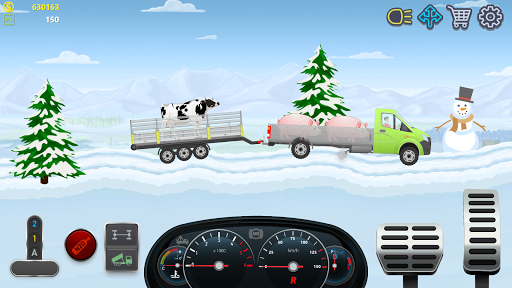 Trucker Real Wheels - Simulator apkdebit screenshots 7