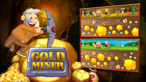 Gold Miner Classic: Gold Rush - Mine Mining Games 2.6.1 screenshots 1