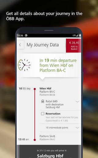 u00d6BB u2013 Train Tickets & More apktram screenshots 1
