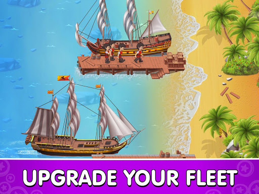 Pocket Ships Tap Tycoon: Idle Seaport Clicker modavailable screenshots 18