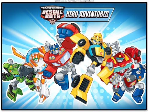 Transformers Rescue Bots: Hero Adventures 2.2 Screenshots 20