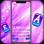 Purple Jello SMS Keyboard Background