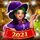 シークレットマジックストーリー:ジュエルマッチ3パズル