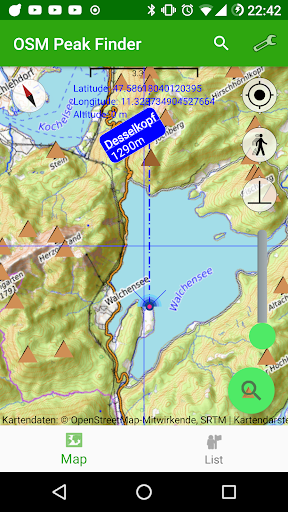 osm peak finder screenshot 3