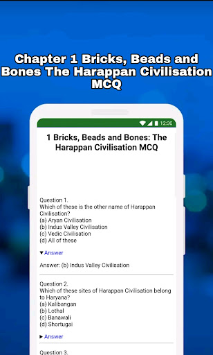 12th Class History Notes & MCQ android2mod screenshots 8