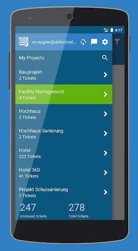 PlanRadar - Punch list app 6.3.36 screenshots 1