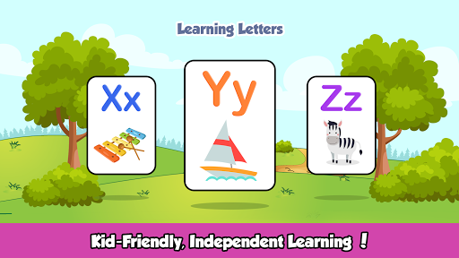 ABC Kids Games - Phonics to Learn alphabet Letters screenshots 5