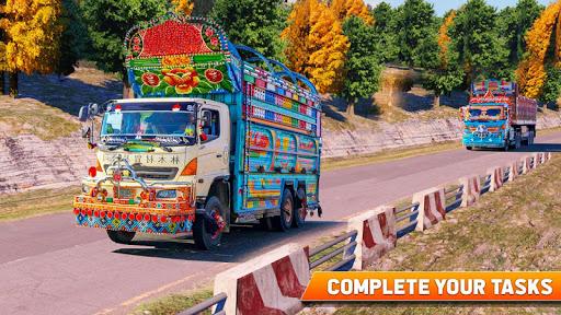 Pak Truck Driver: Heavy Cargo Trailer Truck Apps  screenshots 14