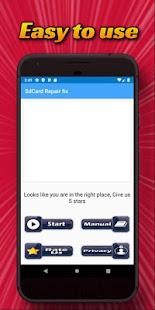 Sd Card Repair (Fix Sdcard) 2.0 Screenshots 1