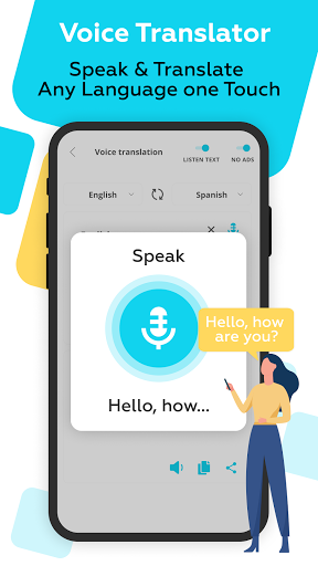 Voice Translator All Languages android2mod screenshots 2