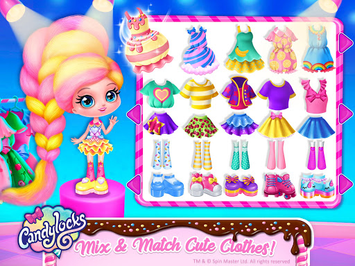 Candylocks Hair Salon - Style Cotton Candy Hair  Screenshots 17