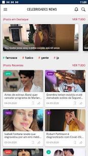 CELEBRIDADES NEWS - NOTÍCIAS SOBRE FAMOSOS! 18.0 APK + Mod (Free purchase) for Android
