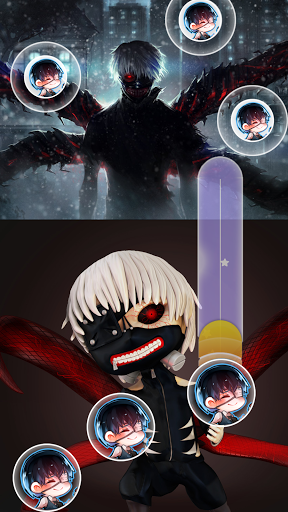 Anime Piano Magic Tiles - SAO Ghoul Boku Titan 1.8 screenshots 3