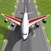 Pilot Plane Landing Simulator - Airplane games