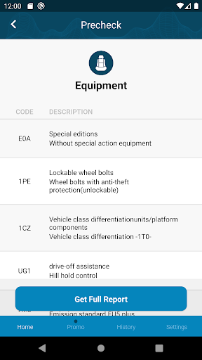 Volkswagen History Check: VIN Decoder android2mod screenshots 3