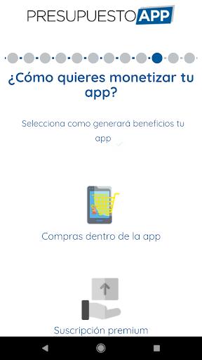 Presupuesto App  screenshots 7