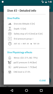 Dive Planner