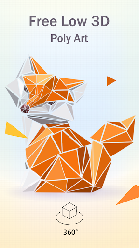 Free Poly - Low Poly Art Puzzle Game apktram screenshots 1