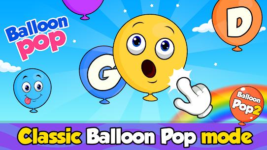 Balloon Pop : Toddler Games for preschool kids 4