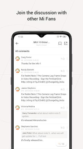 Mi Community - Xiaomi Forum 4.5.14 Screenshots 2