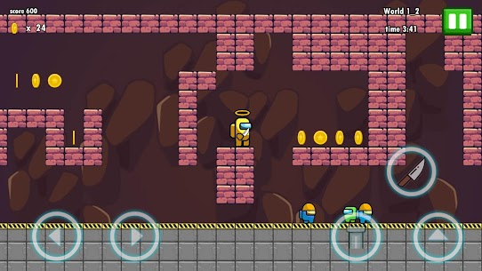 YELLOW IMPOSTER – NIGHTMARE ADVENTURE MOD APK 1.8 (Unlimited Lives) 1