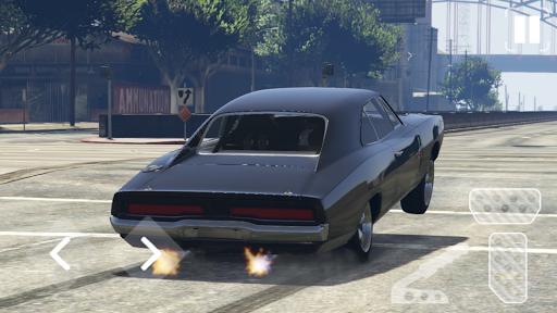 Speed Dodge Charger Classic Racing screenshots 4