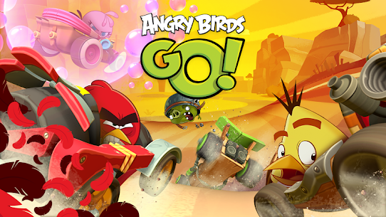 Download Angry Birds Go Mod Apk 2021 [Unlimited Coins/karts/Gems] 1