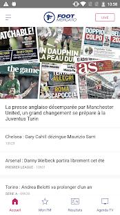 Foot Mercato : transferts, ru00e9sultats, news, live 4.1.58 Screenshots 1