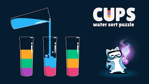 Cups - Water Sort Puzzle  screenshots 20