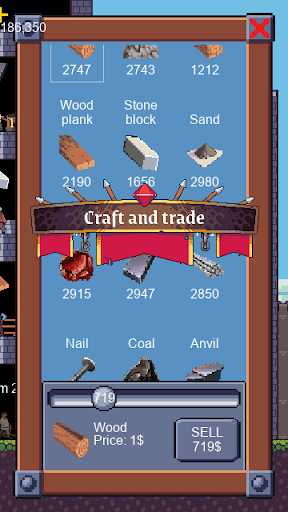 Castle Builder | Medieval Idle Crafting Strategy 1.1.6 screenshots 7