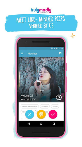 TrulyMadly - Dating app for Singles in India 5.21 screenshots 1