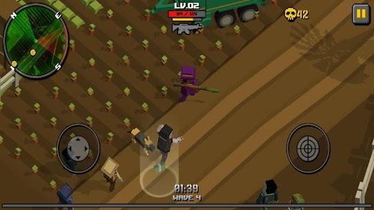 Pixel Zombie Frontier 8