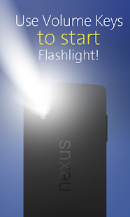 Power Button FlashLight - LED Flashlight Torch