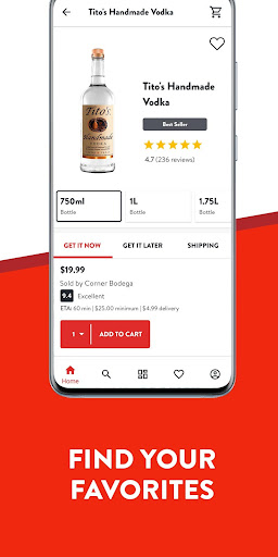 Drizly: Alcohol delivery. Order Wine Beer & Liquor 4.16.2 Screenshots 4