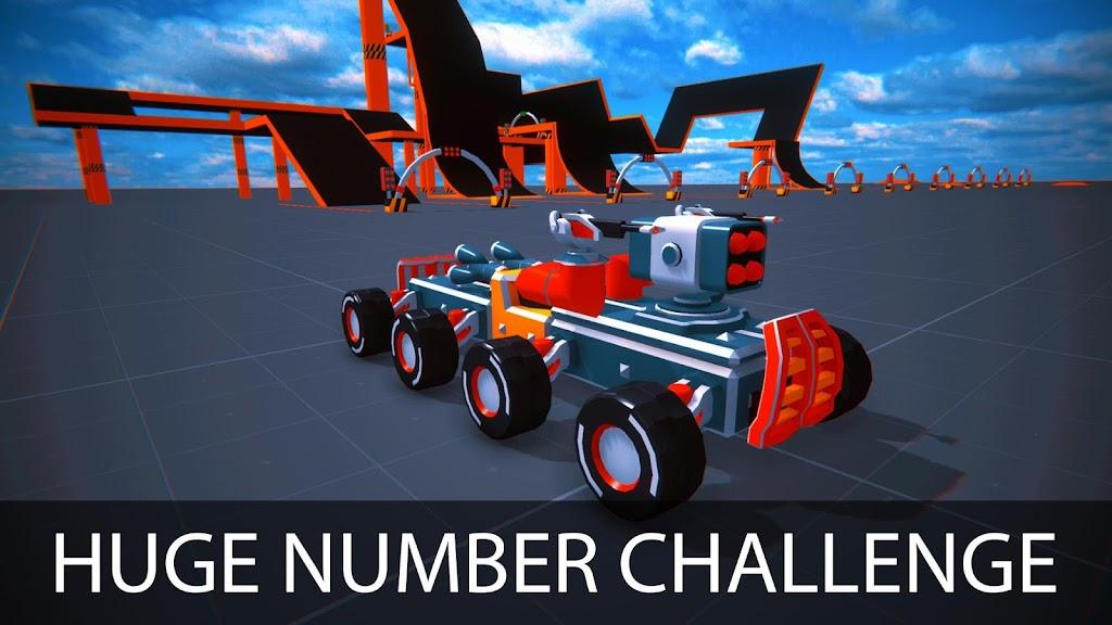 Block Tech : Tank Sandbox Craft Simulator Online  poster 3