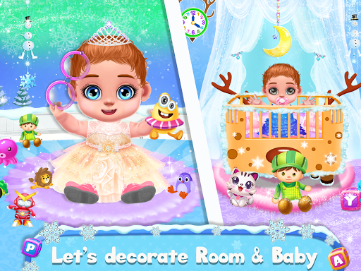 Ice Princess Pregnant Mom and Baby Care Games 0.16 Screenshots 4