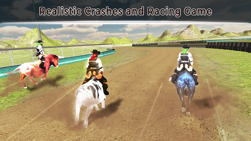 Angry Bull Attack u2013 Cowboy Racing 1.3 screenshots 1