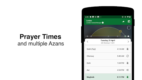 Muslim Pro – Prayer Times, Azan, Quran & Qibla 7