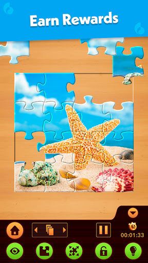 Jigsaw Puzzle: Create Pictures with Wood Pieces Apkfinish screenshots 4