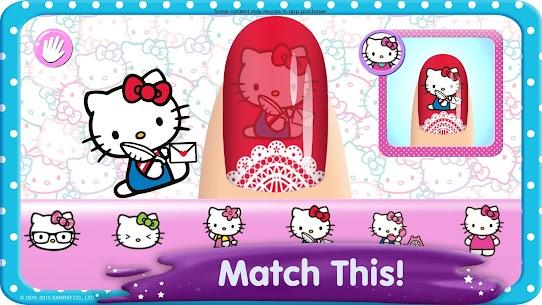 Hello Kitty Nail Salon 3