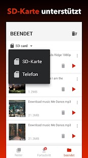 Kostenloser Video-Downloader Screenshot