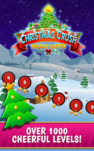 Christmas Crush Holiday Swapper Candy Match 3 Game 1.66 screenshots 6