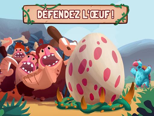 Dino Bash - Dinosaure tower defense TD APK MOD (Astuce) screenshots 3