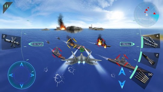 Sky Fighters 3D Mod 1.7 Apk [Free Shopping] 5