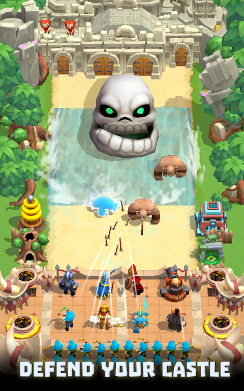 Wild Castle TD: Grow Empire Tower Defense in 2021  poster 1
